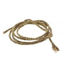 Bruin Manilla touw d=6mm per rol van 25 meter