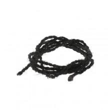 Zwart Palm touw d=3mm per rol van 25 meter