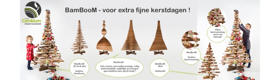 Bamboe kerstbomen