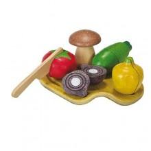 Plantoys- groenten assortiment set